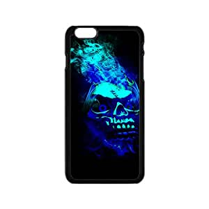 Black Blue Skull Hot Seller High Quality Case Cove For Iphone 6