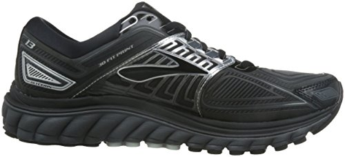 37fbe6200a5f5 Brooks Men s Glycerin 13 Running Shoe Black Anthracite Size 12 M US