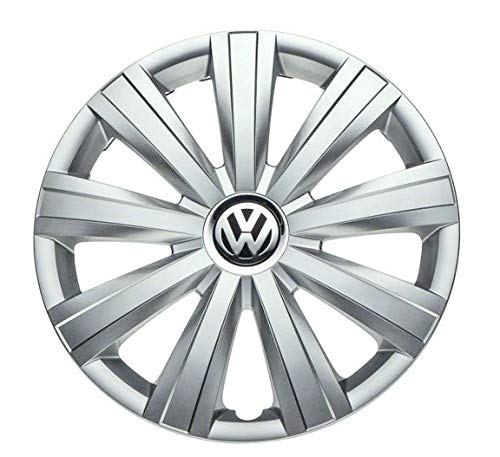 Genuine OEM VW Hub Cap Jetta-Sedan 2011-2014 9-Spoke Cover Fits 15-Inch Wheel