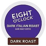 Eight O Clock Coffee Dark Italian Roast Keurig K-cup Pods, Dark Roast Coffee, 96 Count