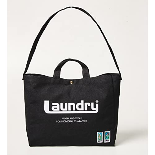 Laundry × MEI 2WAY BAG BOOK BLACK 付録画像