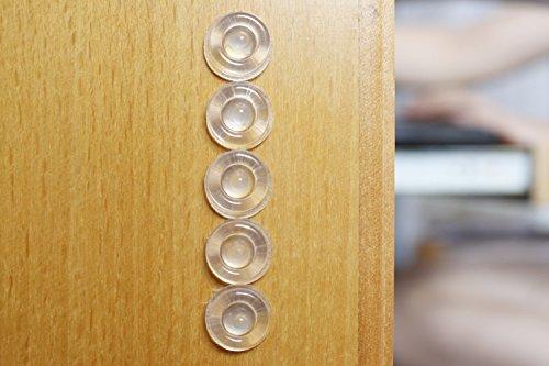 """Sound Dampening Door Bumpers, 1/2"""" Diameter, Sheet"""