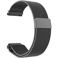 Pulseira Milanese Apple Watch, Iwill, Capa Protetora Flexível, Preta, 42 mm
