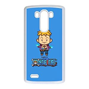 LG G3 Cell Phone Case White ONE PIECE 002 AS6438357