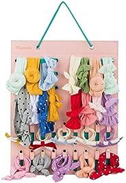 Pacmaxi Baby Girl Headbands Storage Holder, Newborn Headbands and Bows Hanging Organizer