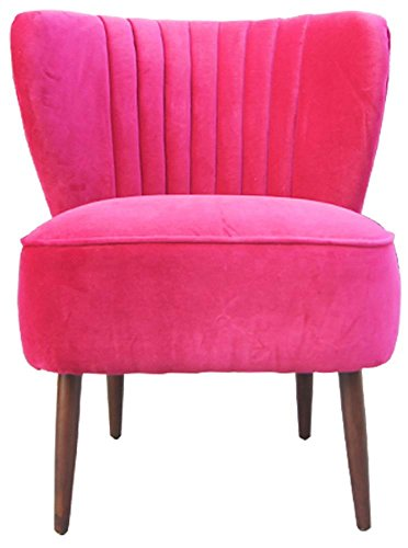 Price comparison product image Valencia 28.3 in. Club Chair in Pink - Set of 2