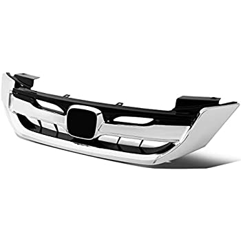 Made Of Abs Plastic HO1210142 New Front Lower Grille Molding For 2013-2015 Honda Accord Chrome For Usa Built Sedan