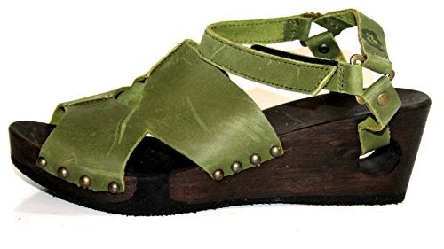 Loints of Holland - Plataforma Mujer Verde - verde