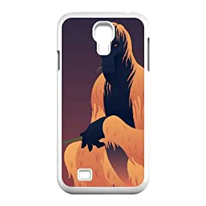 Samsung Galaxy S4 9500 Cell Phone Case White_Halloween Ape Osuci