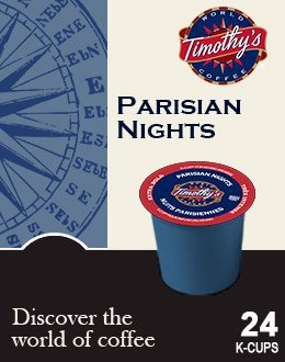 Timothy's World Coffee Parisian Nights K-Cup 96 count)