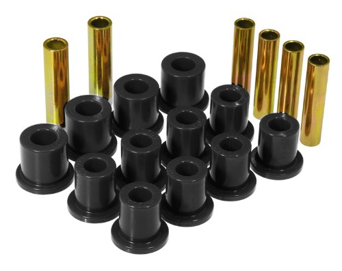 Prothane 6-1007-BL Black Rear Spring Eye and Shackle Bushing Kit