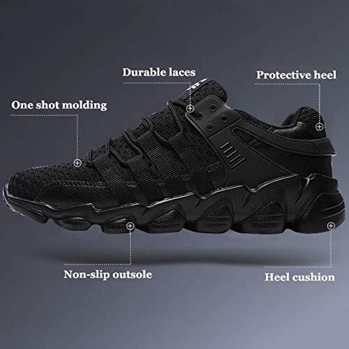 Antiscivolo Fashion Grey Adulti Sneakers Casual Per Running Stringate Scarpe Athletic Uomini Allenatori Sport Traspirante xP0qg