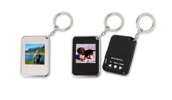 Llavero Portafotos Digital 6x4 cm Surtido (1 unidad): Amazon ...