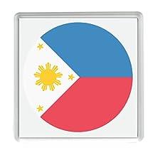 Flag for Philippines Emoji 58mm x 58mm Fridge Magnet