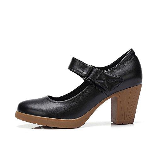 Tacco A Spillo Mary Jane Cinturino Alla Caviglia Cinturino Alla Caviglia Con Cinturino Alla Caviglia Nero