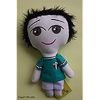 Muñeco de trapo estilo jugador mundialista mexicano diseñado, elaborado y pintado a mano.