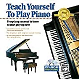 TEACH YOURSELF TO PLAY PIANO (WIN 95,98,ME,NT,2000,XP/MAC 8.6-9.X (CLASSIC),X,10)