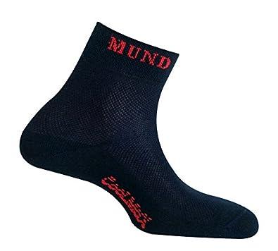 MUND Cycling 802 Verano - Calcetines para Hombre, Color Azul Marino, Talla XL (