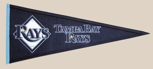 MLB Tampa Bay Rays Medium Pennant (Rays Pennant Tampa Bay Devil)