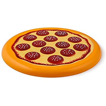 BigMouth Inc. Pass the Pizza! Flying Food Frisbee, Plastic Disc, Outdoor Game