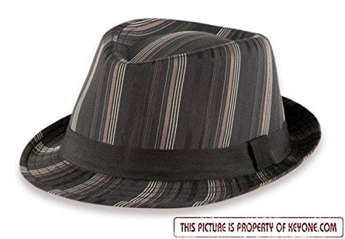 Cosmic Noir TG S/M (55/57Cm) Chapeau Trilby Fedora Bonnet Hiver