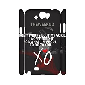C-EUR The Weeknd XO Customized Hard 3D Case For Samsung Galaxy Note 2 N7100 by lolosakes
