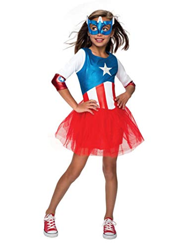 Rubie's Marvel Classic Child's American Dream Metallic Costume, Small -