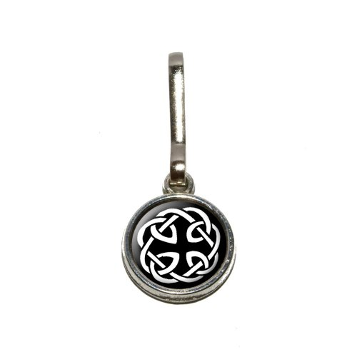 (Celtic Knot Antiqued Charm Clothes Purse Luggage Backpack Zipper Pull)