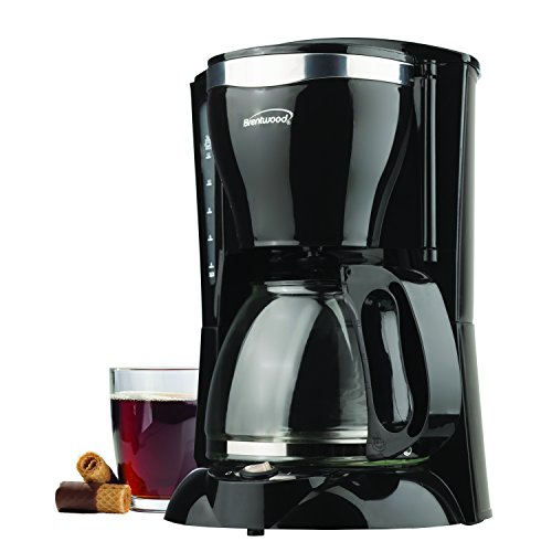 Buy new brentwood single-cup red coffee maker