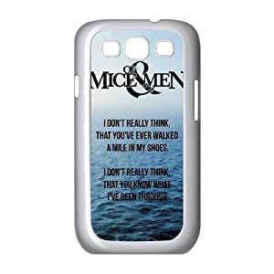 Hjqi - Personalized Of Mice & Men Cell Phone Case, Of Mice & Men Customized Case for Samsung Galaxy S3 I9300