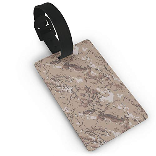Sheery Camouflage Luggage Tags Business Card Holder Travel ID Bag Tag