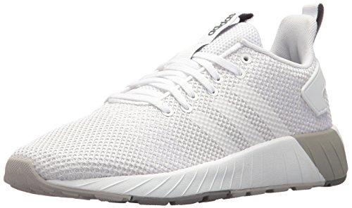 Adidas Mens Questar Byd, Bianco / Bianco / Grigio Due, 10,5 M Us Bianco / Bianco / Grigio Due