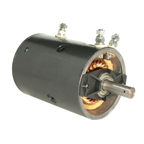 DB Electrical LPL0015 Pump Motor for Warn Keyed Shaft Heavy Duty 8274 46-2262, MBJ4401, MBJ4401S / Warn 7536 W-8941