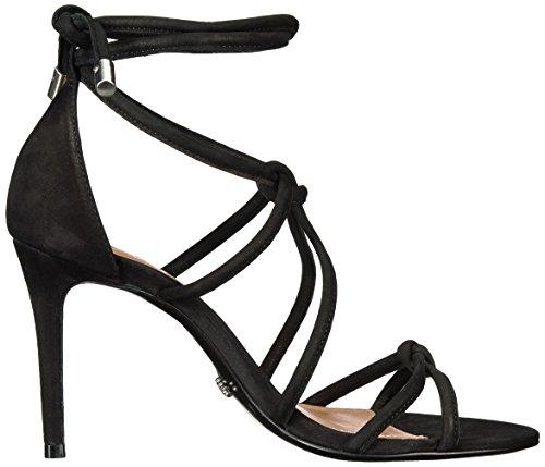 Schutz Women's Nadira Heeled Sandal Black SZVMaqk