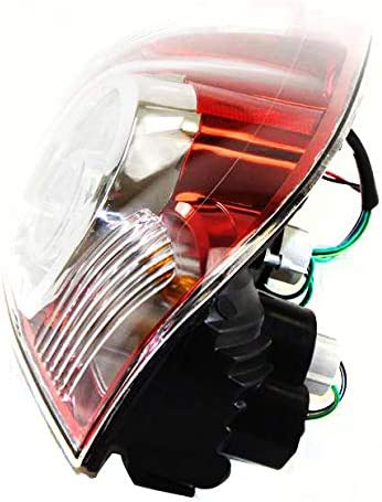 Tail Light Assembly Compatible with 2009-2015 Toyota Tacoma Halogen and LED Type Driver Side