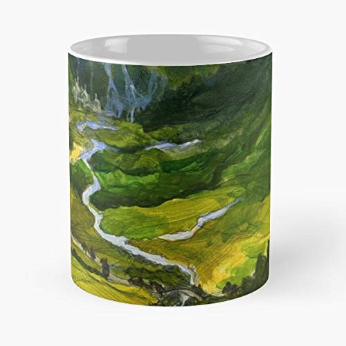 Norway Europe Rivendell - Coffee Mugs Unique Ceramic Novelty Cup