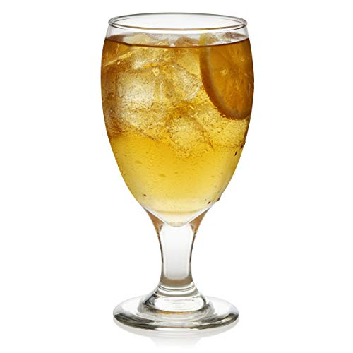 Libbey Classic Goblet Party Glasses, Set of 12