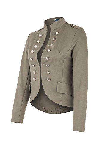 Massimo Blazer Militaire 4tuality Style Kaki AO TB5aRqwn