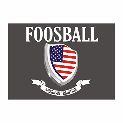 Idakoos - Foosball American Tradition - Sports - Sticker Pack x4