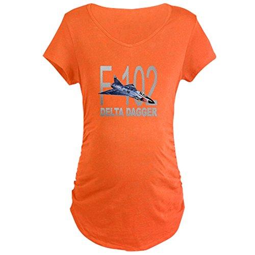 Dart Delta F102 (CafePress F-102 Delta Dagger - Cotton Maternity T-Shirt, Side Ruched Scoop Neck)
