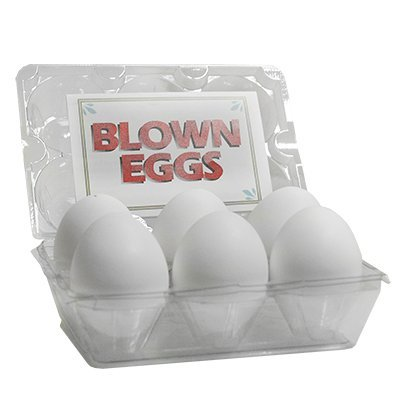 High Quality Blown Eggs(White / 6-pack)by Donato Colucci - Trick