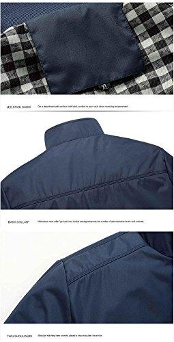 Di Sottile Arrivo Casual Black Jacket Slim Copricapo Cappotti Giaccone Cappotto Primavera Uomo Giacche Xl Collare Moda zdqzR