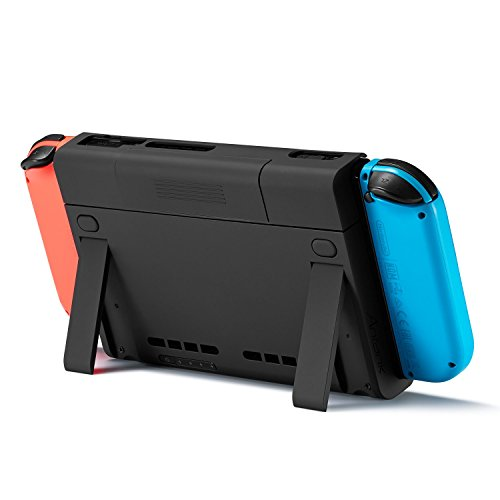 Battery Charger Stand - For Nintendo Switch Charge Stand with 6500mAh Battery Case, Antank Portable Battery Case Extended Juice Battery Pack Power Bank with Kick Stand for Nintendo Switch 2017