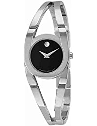 Amorosa Black Dial Stainless Steel Ladies Watch 0606394
