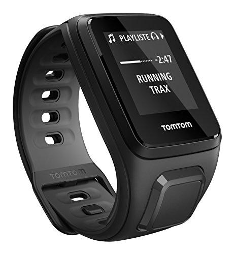 TomTom Sportuhr Runner 2 Musik GPS Uhr, schwarz/anthrazit, S, 1REM.001.07