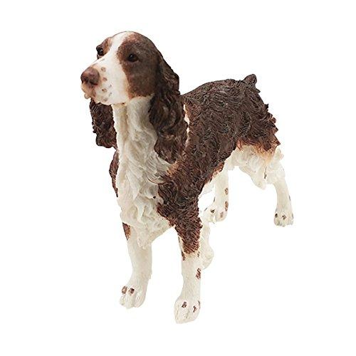 - Decorative Springer Spaniel Statue Resin Crafted Dog Figurine