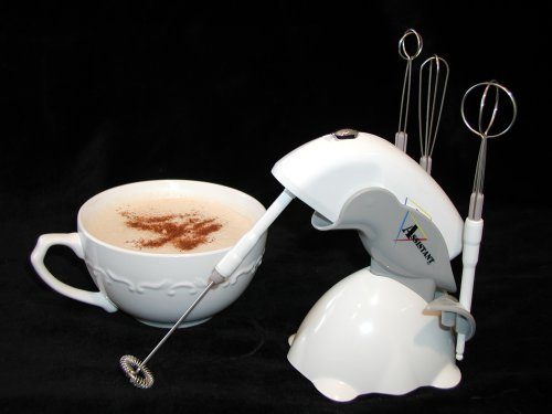 Master Mini-mixer and Drink Frother, Battery Operated/includ