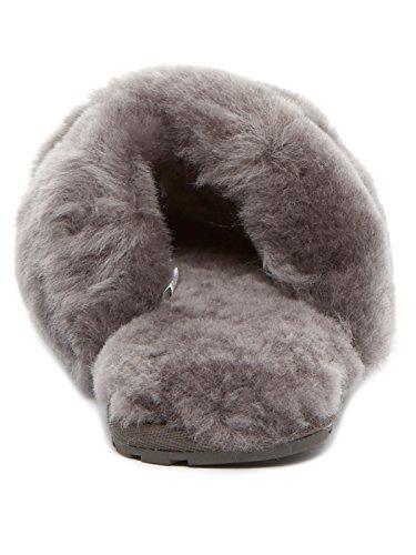 Carbón Emu Zapatillas Charcoal Señoras Oveja Piel De Australiano Lujo En Mayberry SqwzFS