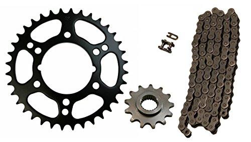 520x76 O-Ring Drive Chain & 13/36 Sprockets 1998-2002 Polaris Scrambler 400 4x4