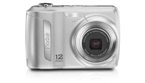 (Kodak Easyshare C143 12 MP Digital Camera with 3xOptical Zoom and 2.7-Inch LCD (Silver))